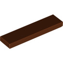 15947950 LEGO Reddish Brown Tile 1 x 4 (2431)