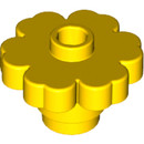 15948219 LEGO Yellow Flower 2 x 2 with Open Stud (4728)