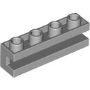 15959417 LEGO Medium Stone Gray Brick 1 x 4 with Groove (2653)