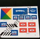 16-16092 Tomy Big Loader S5001S PPR Big Loader #5001 Sticker/Decal Sheet Small