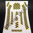 16-16093 Tomy Big Loader S5001L PPR Big Loader #5001 Sticker/Decal Sheet Large
