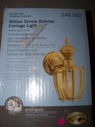 Hampton Bay 150-Degree Outdoor Motion-Sensing Lamp