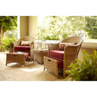 Galesburg 5-Piece Cafe Patio Set
