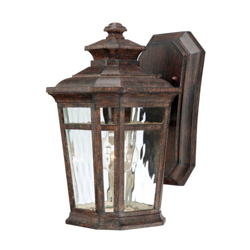 Hampton bay waterton wall mount 1 light outdoor lantern 116377 the hampton bay waterton wall mount 1 light outdoor lantern 116377 aloadofball Choice Image