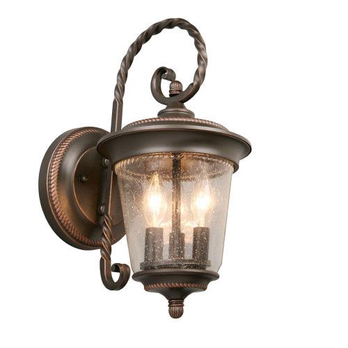 Hampton bay 3 light outdoor oil rubbed bronze large wall lantern hampton bay 3 light outdoor oil rubbed bronze large wall lantern gtp1613al aloadofball Image collections