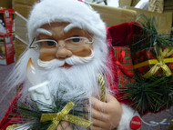 """HOME ACCENTS 24"""" LED ANIMATED CHRISTMAS SANTA W/ MOTION & HOLIDAY SONGS"""