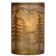 Hampton Bay 1-Light Natural Antler Wall Sconce