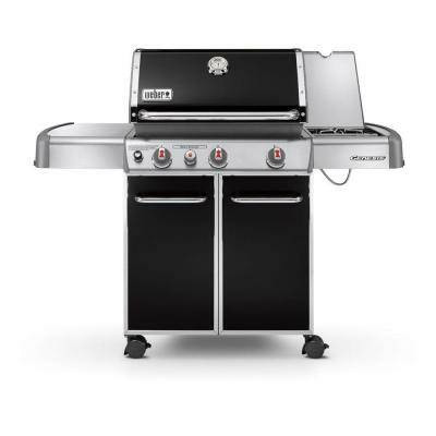 weber genesis e 330 3 burner black propane gas grill the. Black Bedroom Furniture Sets. Home Design Ideas