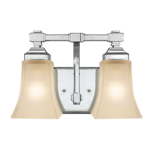 Hampton bay 2 light chrome bath light 473542 the open box shop hampton bay 2 light chrome bath light 473542 aloadofball Image collections