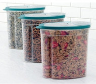 Rubbermaid Cereal/Snack Storage Container Each 1.5 Gal 3Pack
