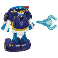 Transformers Rescue Bots Energize-- Chase the Police-Bot- SET OF 4