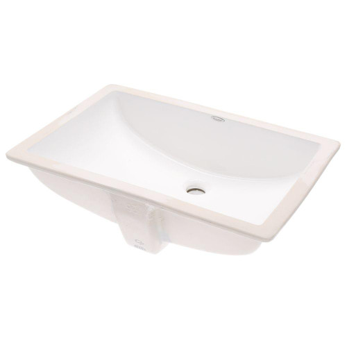 American Standard Studio Rectangular Undermount Bathroom Sink In - American standard undermount bathroom sinks