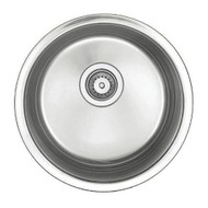 BELLE FORET BR18 CIRCULAR UNDERMOUNT KITCHEN BAR SINK