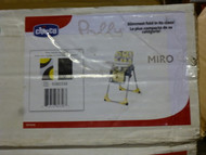 Chicco Space Saving Fold High Chair Miro pattern