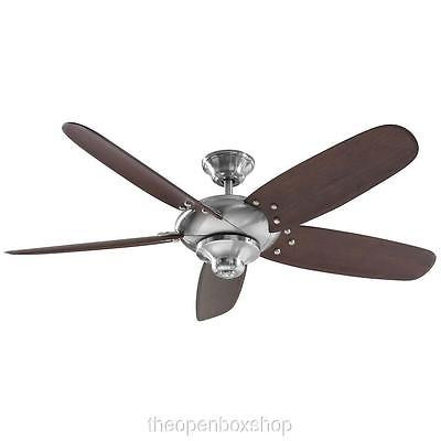 Home Decorators Collection Altura 56 In Brushed Nickel Ceiling Fan The Open Box Shop
