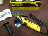 Dewalt 7 Amp 4-1/2 in. Small Angle Grinder with 1-Touch Guard