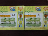 Set of 2 - Magic Bullet Baby Bullet Storage System
