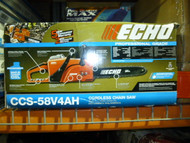 Echo 16 in. 58-Volt Lithium-Ion Brushless Cordless Chainsaw