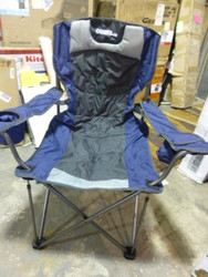 Extreme Support Chair with Adjustable Lumbar, Navy/Black