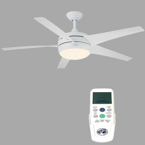 Hampton Bay Windward Ii 54 In White Ceiling Fan The