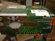 Hunter Princeton 52 in. Indoor Brushed Nickel Ceiling Fan