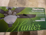 Hunter Heathrow 52 in. Brushed Nickel Ceiling Fan