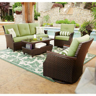 Carnaby Deep Seating 4-Piece Set with Premium Sunbrella Fabric