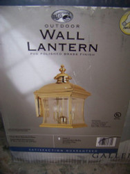 Hampton Bay Outdoor Light Wall Lantern 147106