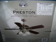 Hampton Bay Preston 52 in. Indoor Ceiling Fan