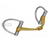 Neue Schule 8022D D-ring snaffle