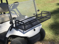 Installs quickly with our hardware that connects to the existing golf cart hardware