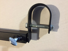 Both stalk ends look like this and attach around the round frame tubing in front or rear of vehicle