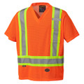 Orange Hi-Viz Traffic T-shirt