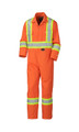 Orange 5555 FLAME RESISTANT COTTON SAFETY COVERALL