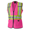 139PK PINK HI-VIZ WOMEN's SAFETY VEST