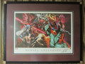 Marvel Unleashed - Custom Framed Lithograph