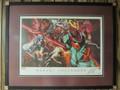 Marvel Unleashed - Custom Framed Lithograph