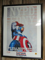 Captain America - Framed Lithograph