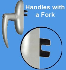 Window Handles with a Fork