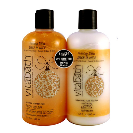 Spice is Nice™ 16.9 fl.oz Body Wash & Lotion Set