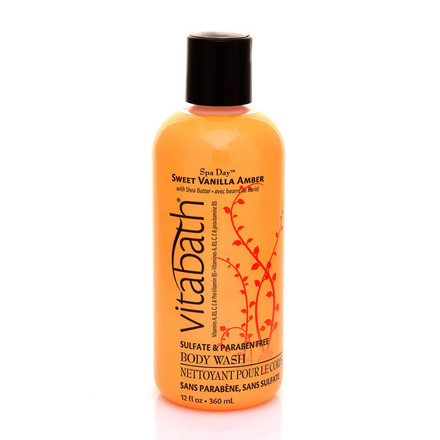 Sweet Vanilla Amber 12 fl.oz Body Wash