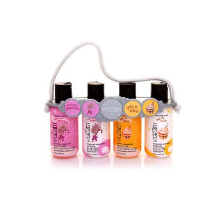 Fragrance Collection 2oz Body Wash & Lotion Carrier