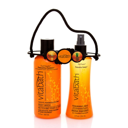 Pineapple Sunset™ Body Wash & Mist Carrier