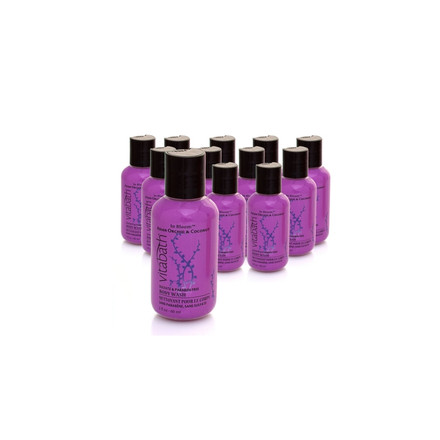12 for $15 - Asian Orchid & Coconut 2oz Travel Size Body Wash