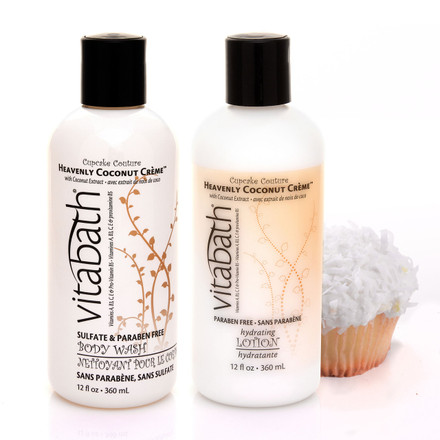 Heavenly Coconut Creme™ 12 fl.oz Body Wash & Lotion Bundle