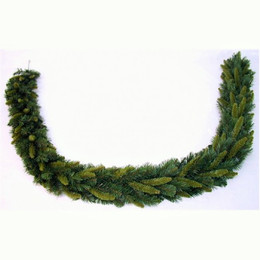 New Hampshire Pine Garland 9ft Dark-Light Green