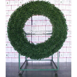 Commercial Alberta Spruce 1.5m Tubular Wreath Indoor-Outdoor