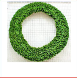 Alberta Spruce Wreath 1.52m Dark Green