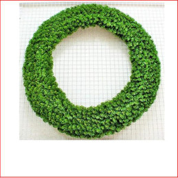 Alberta Spruce Wreath 1.83m Dark Green