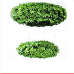 2 Tiered Alberta Spruce Wreath (46cm + 91cm)
